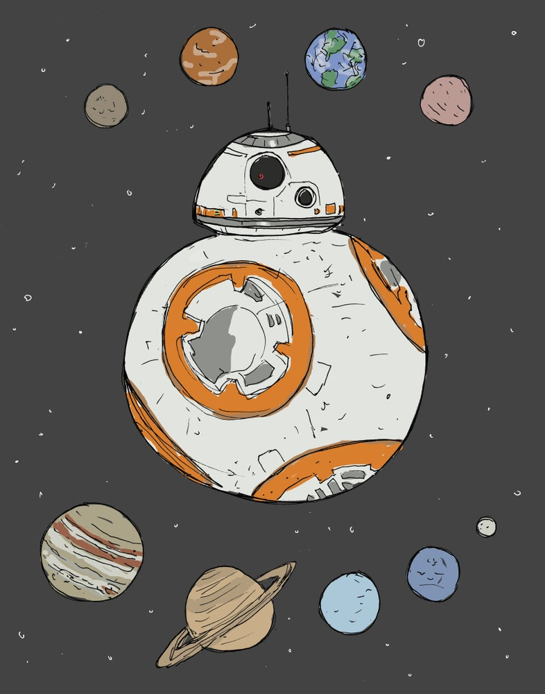 """Image of """"You're a Star, BB-8!"""""""