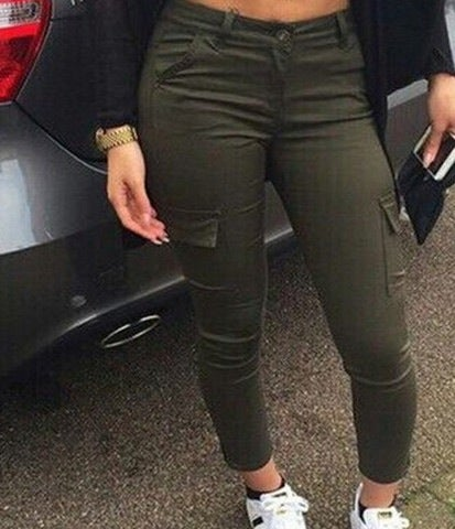 Image of CUTE GREEN PANTS HIGH QUALITY LOWEST PRICE