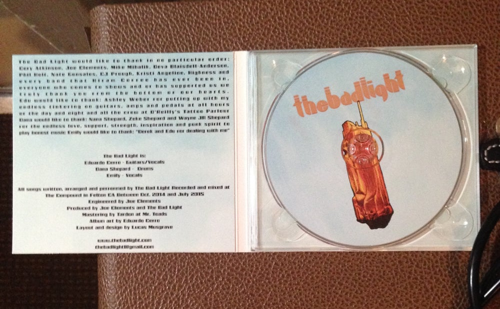 Image of The Bad Light- TEMPLES CD
