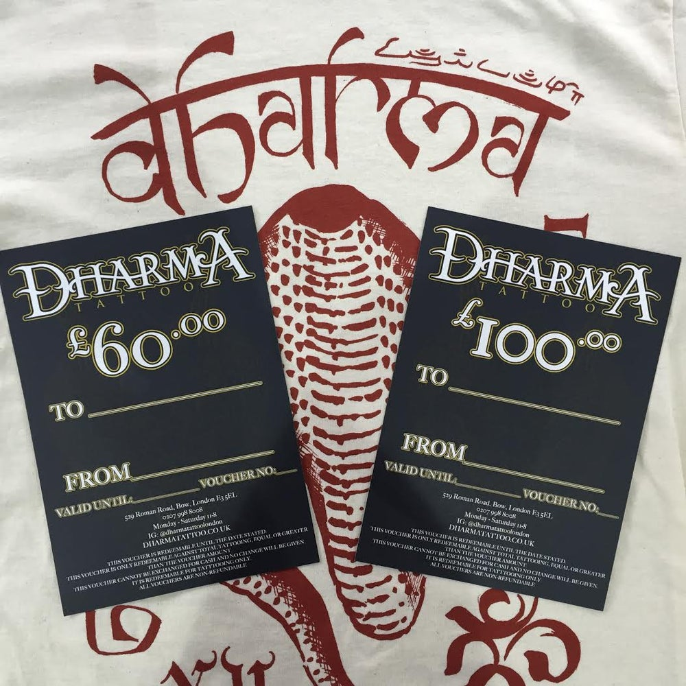 Image of £60 Dharma Gift Voucher