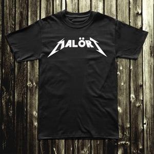 Image of Malört ® Metal Tee - Black