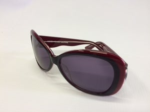 Image of Crown Deluxe Sunglasses-Moonshine Deluxe Red