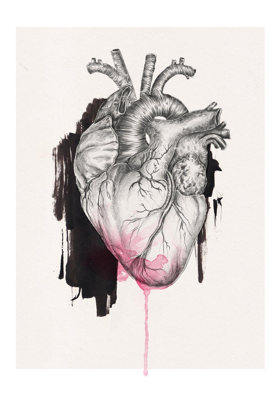 Image of i heart u | A3 size