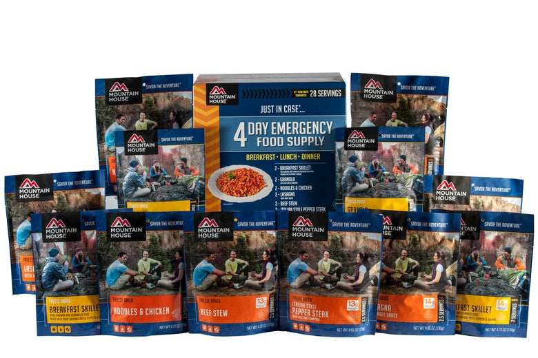 Image of Just In Case...® 4 Day Emergency Food Supply (0084606)