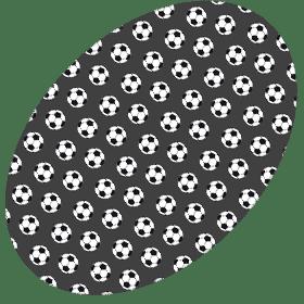 Image of Balones de Fútbol Azul y Gris