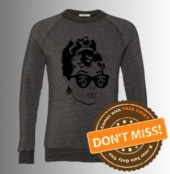 Image of FS AUDREY CREW NECK SWEATER (Item comes with free shirt!)