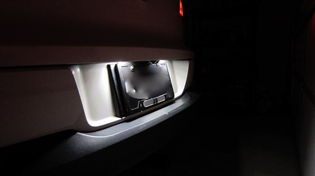 Image of License Plate Bulbs With Resistors - Error Free Fits: Tiguan all years