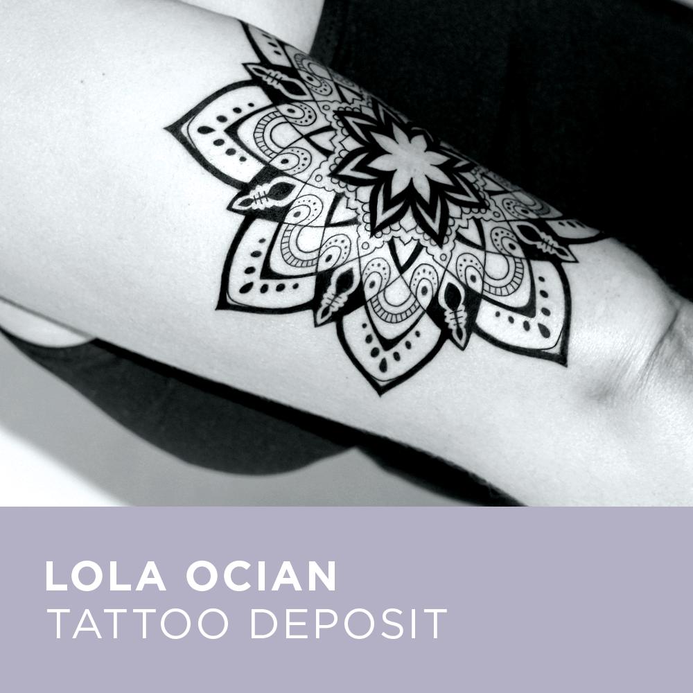 Image of Tattoo Deposit for Lola Ocian