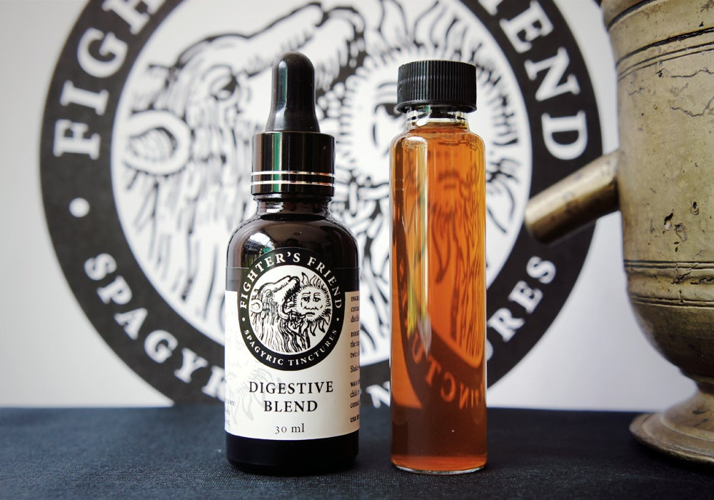 Image of DIGESTIVE BLEND - Fighter's Friend Spagyric Tincture