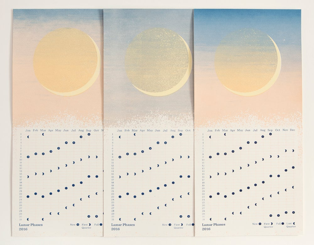Image of Lunar Phases 2016