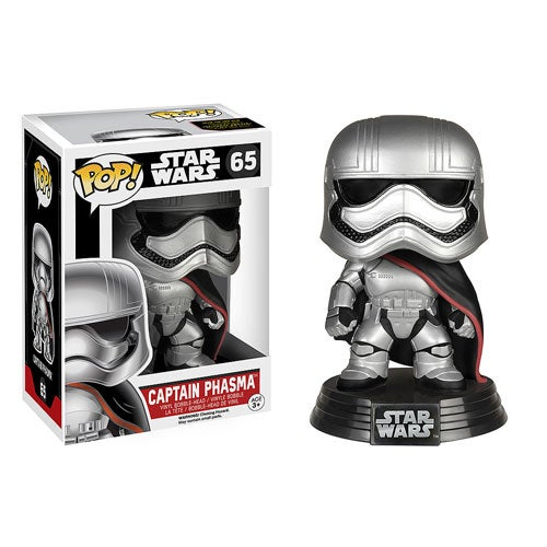 Image of Star Wars VII: The Force Awakens - Captain Phasma Pop! Vinyl