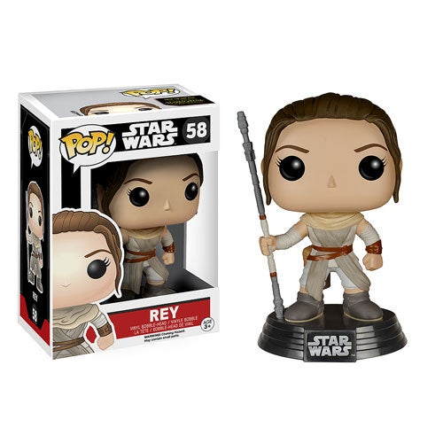 Image of Star Wars VII: The Force Awakens - Rey Pop! Vinyl