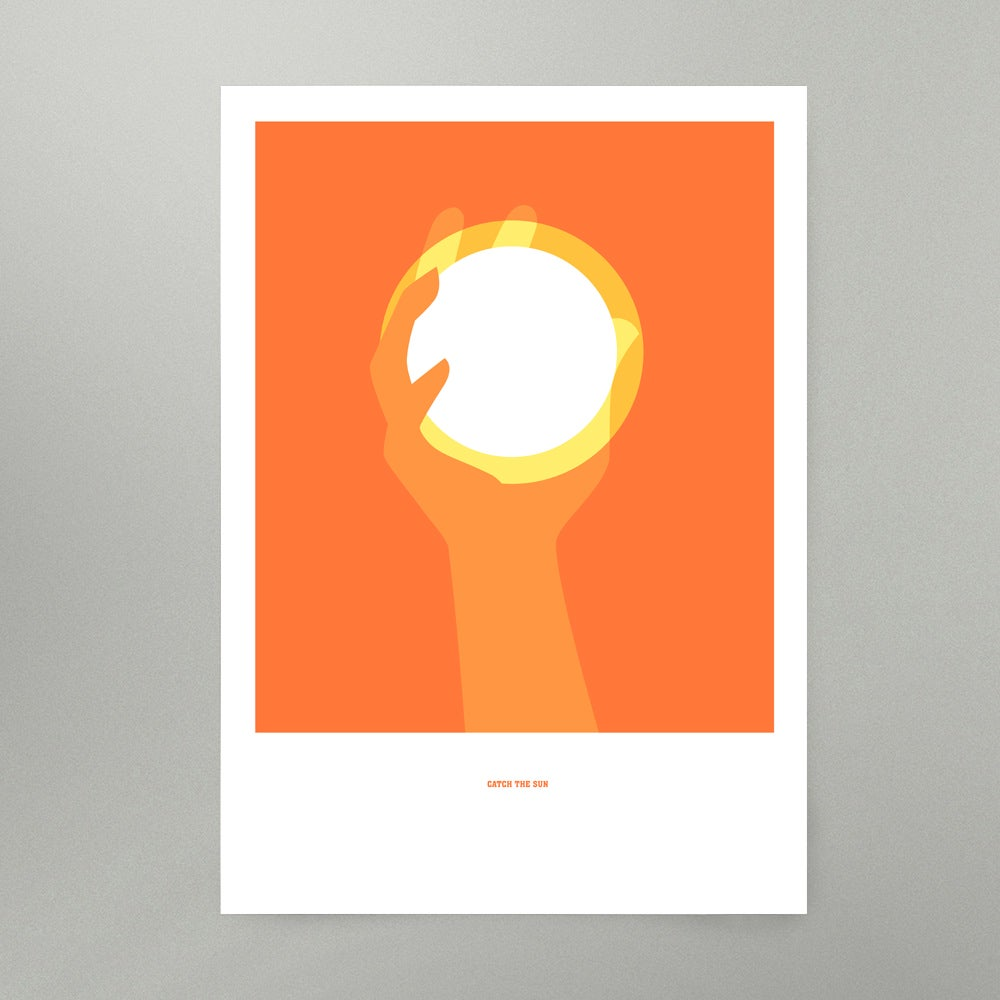 Image of Catch The Sun Art Print