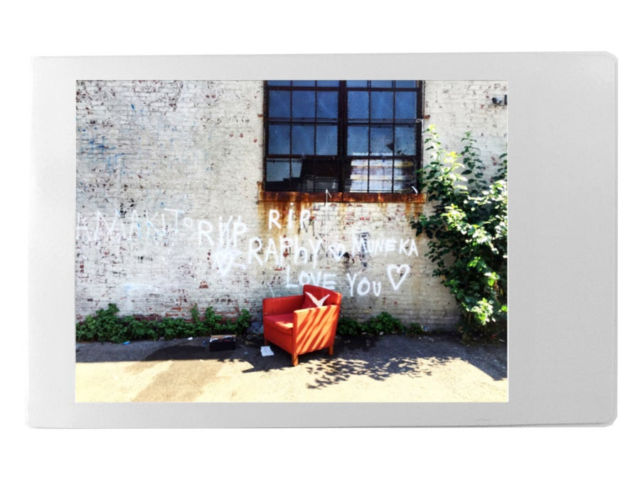 Image of Orange Couch, Brooklyn