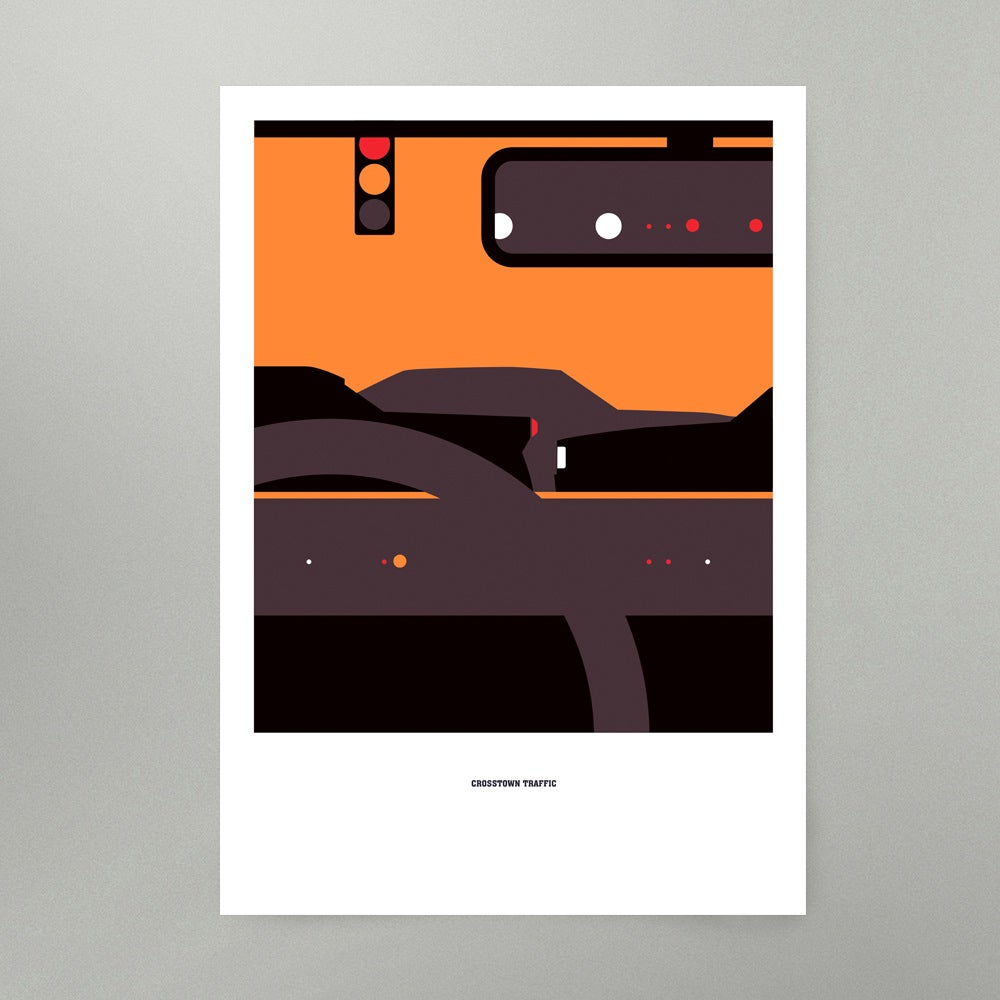Image of Crosstown Traffic Art Print