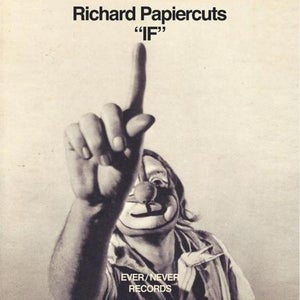 "Image of Richard Papiercuts - ""If"" LP (Ever/Never)"