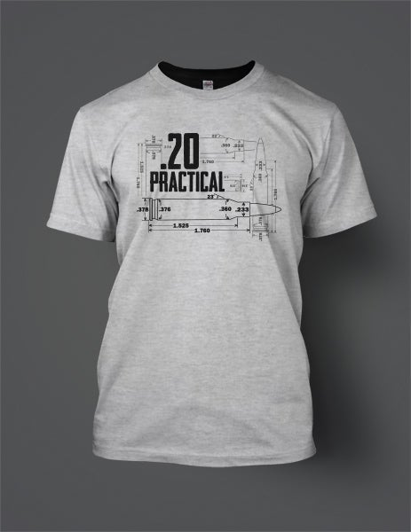 Image of .20 Practical T-Shirt - Front Print
