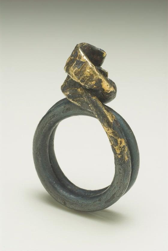 Image of 'IRON^LOCK' RING ONE-OFF PIECE AS WORN BY DAENERYS TARGARYEN IN GAME OF THRONES