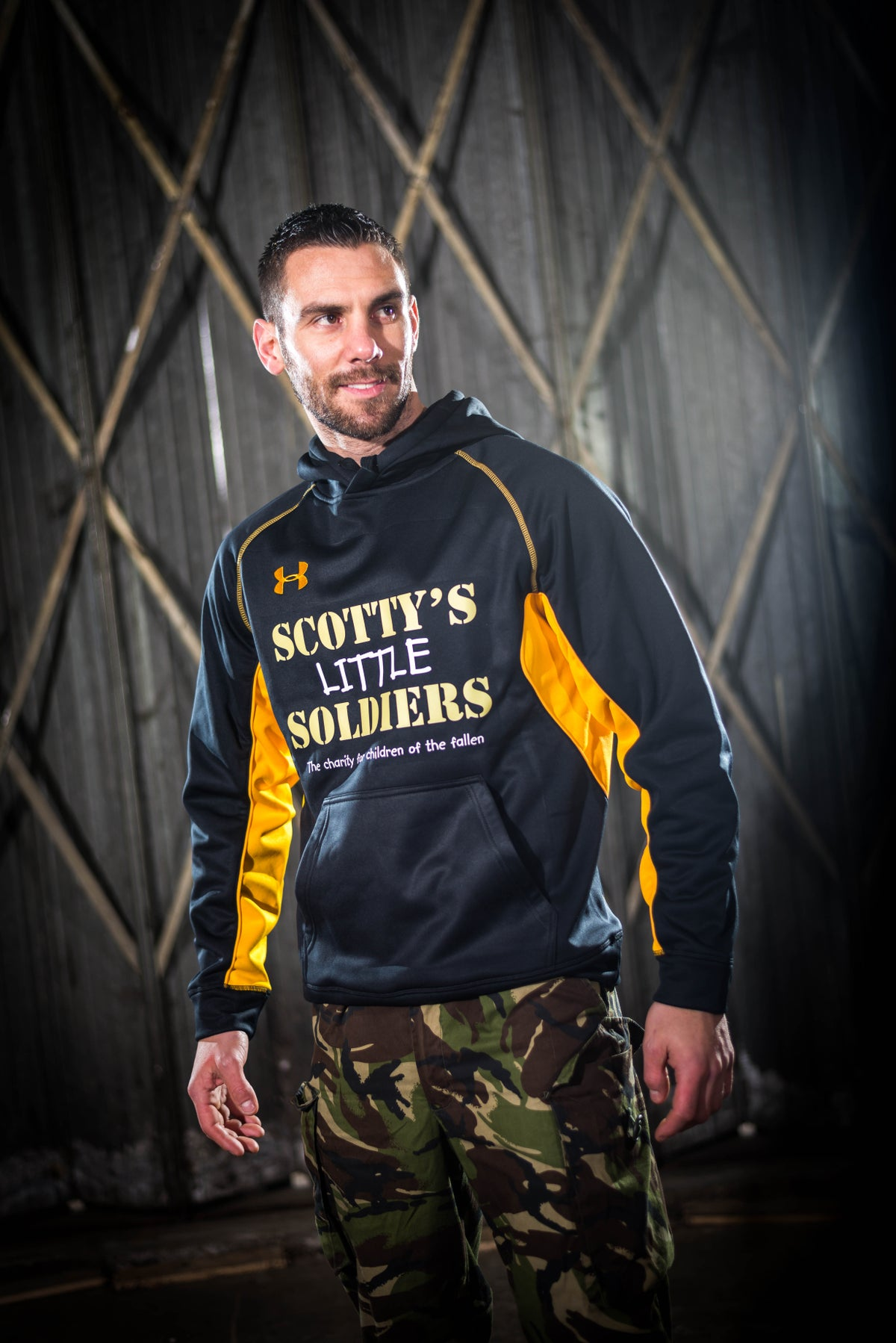 Image of Scotty's Under Armour Hooded Top