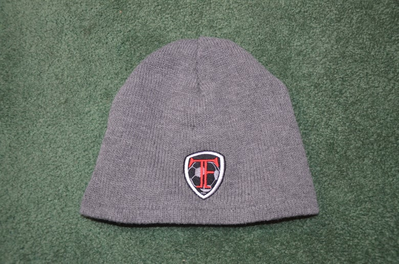 Image of Gray TF Beanie