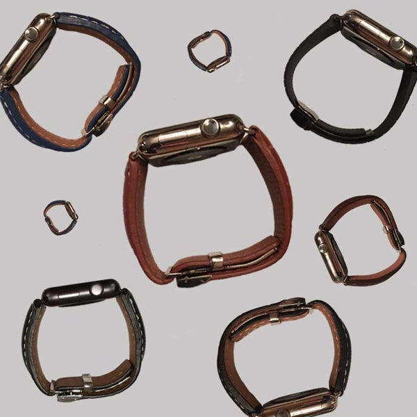 Image of Latch - Leather 42mm
