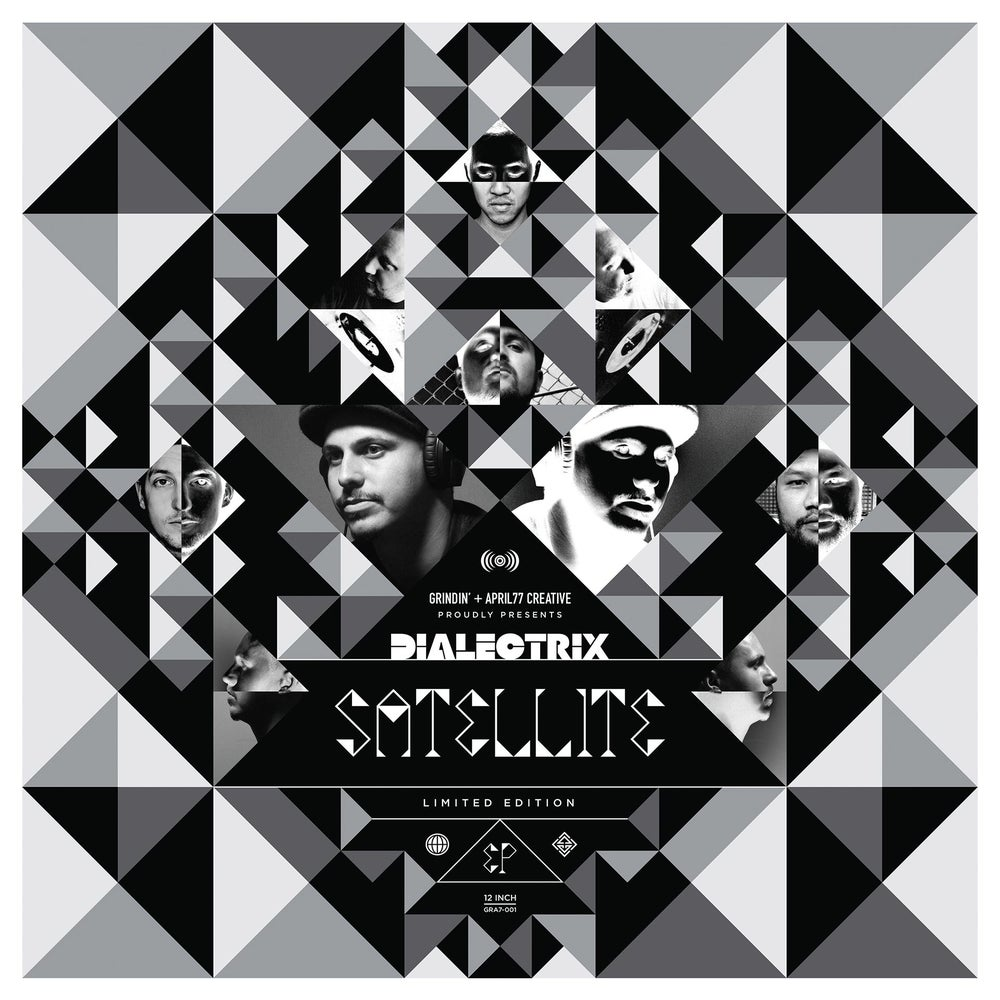 "Image of Dialectrix ""Satellite"" EP - Black Vinyl"