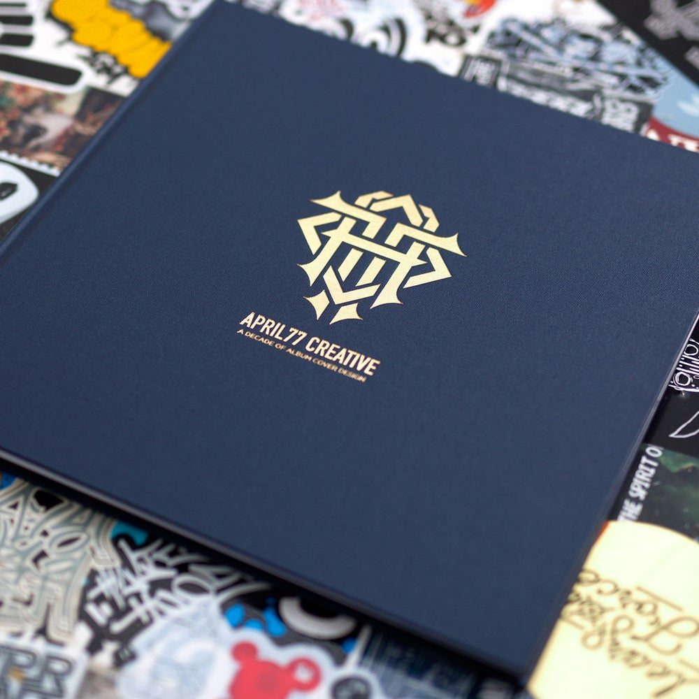 Image of A Decade Of Album Cover Design Limited Edition Book + CD + Poster