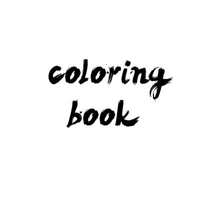 Image of Coloring Book - My First Swear Book