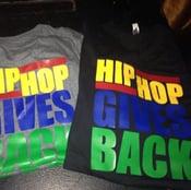 Image of MENS - Hip Hop Gives Back Letter Tee