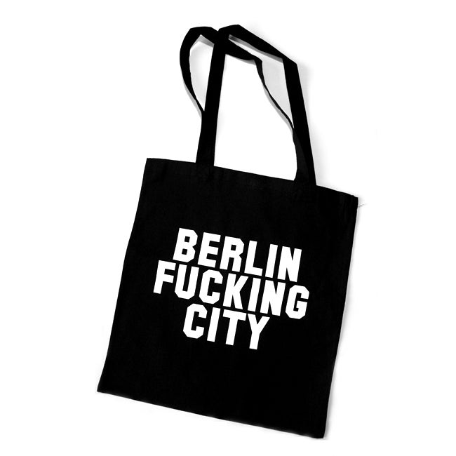 Image of BERLIN FUCKING CITY <br>tote / cotton bag