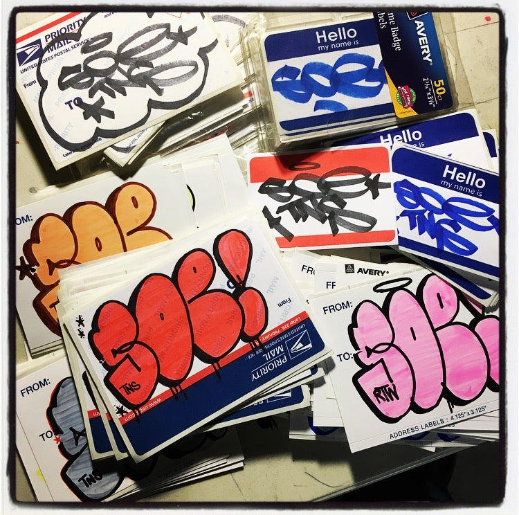 Image of SOE TNS STICKER PACK