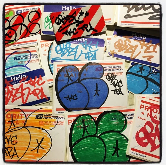 Image of EB TKC STICKER PACK