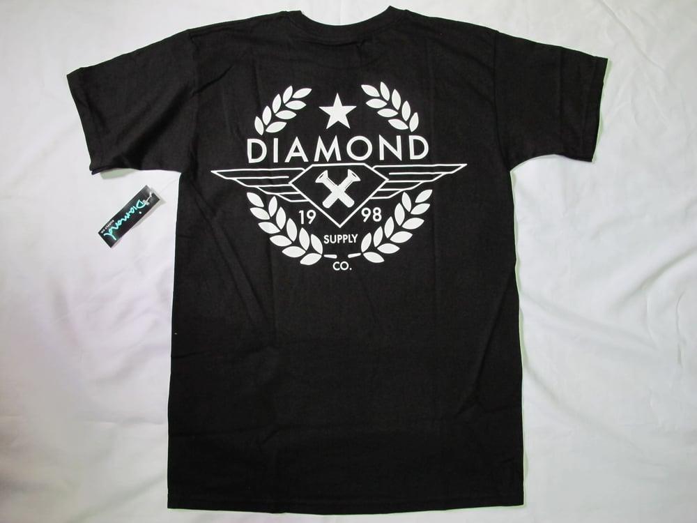 Image of Diamond Supply Co. - Shine Crest tee (Black)