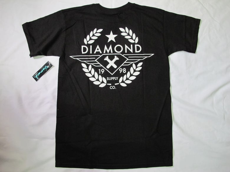 Image of Diamond Supply Co. - Shine Crest tee (Black)