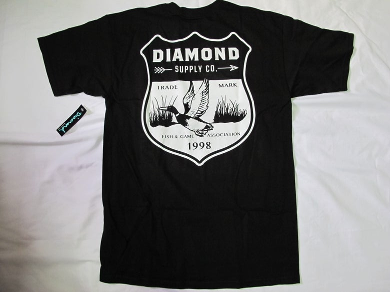 Image of Diamond Supply Co. - Game Patch tee (Black)