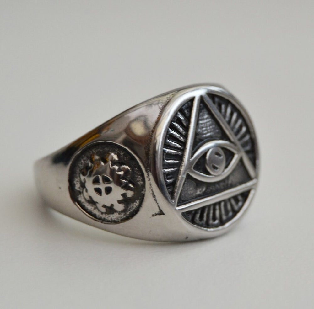 Image of Eye Of Providence Ring
