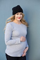 Image 1 of the BLAIR essential maternity tee