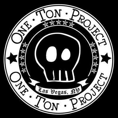 Image of One Ton Project Skull Logo Tee