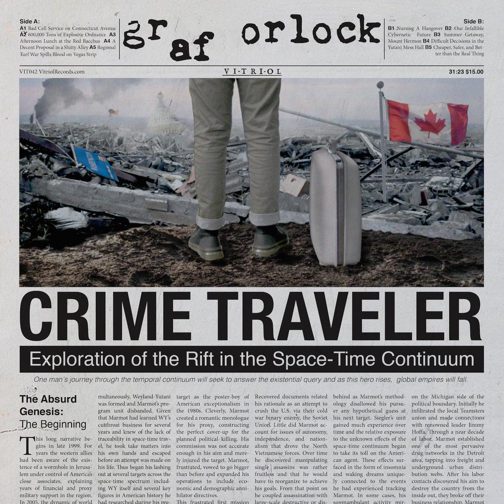 "GRAF ORLOCK ""CRIMETRAVELER"" LP $15 Pre: Jan 4th, 8am PST"