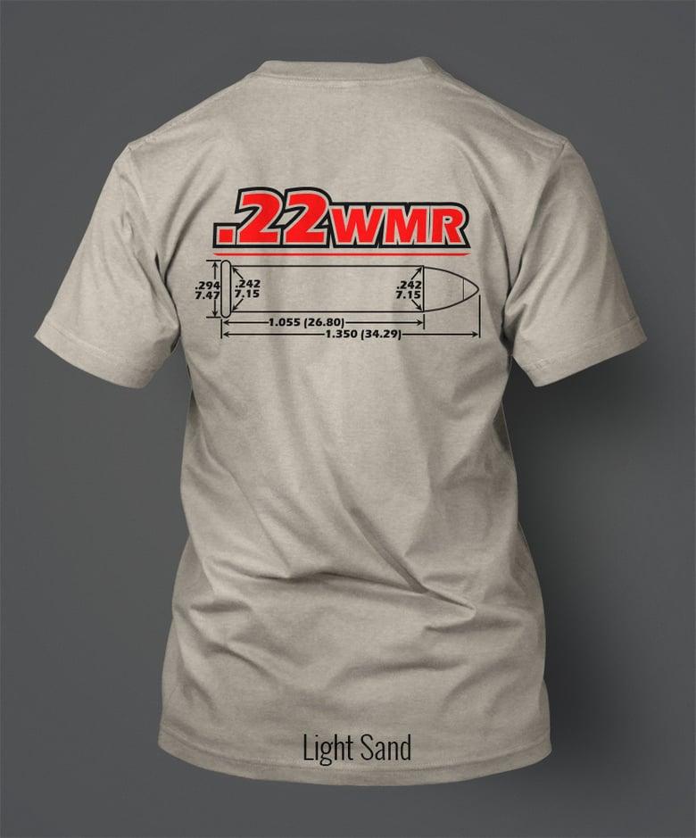 Image of .22 Winchester Magnum Rimfire T-Shirt