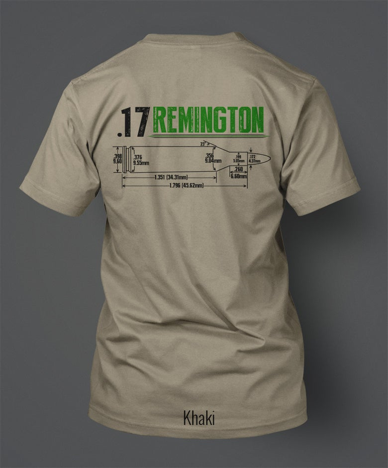 Image of .17 Remington T-Shirt - Front/Back Print