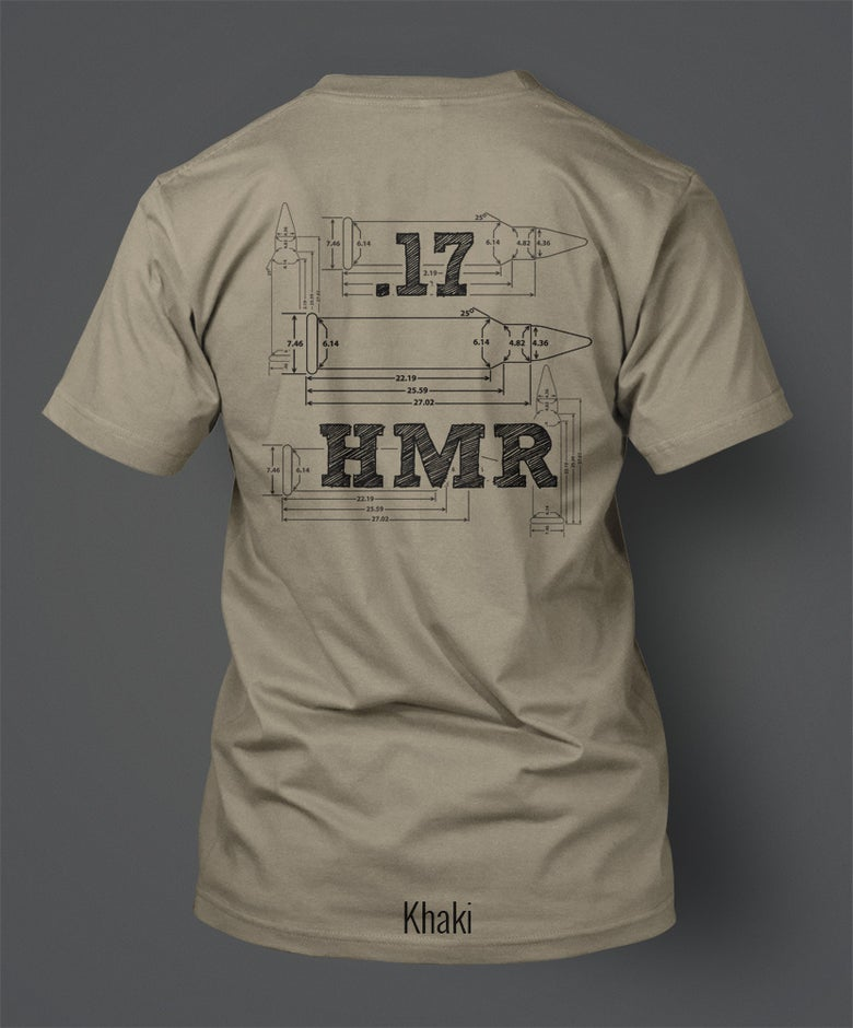 Image of .17HMR T-Shirt - Front/Back Print