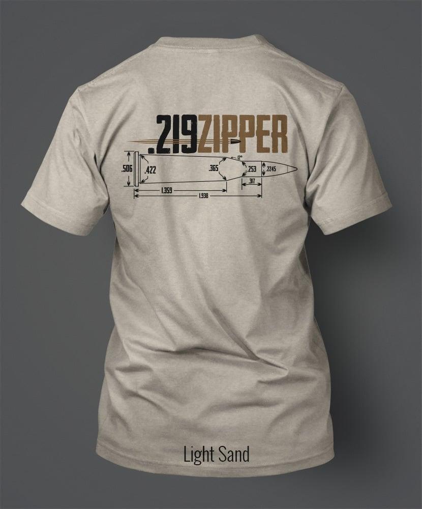 Image of .219 Zipper T-Shirt