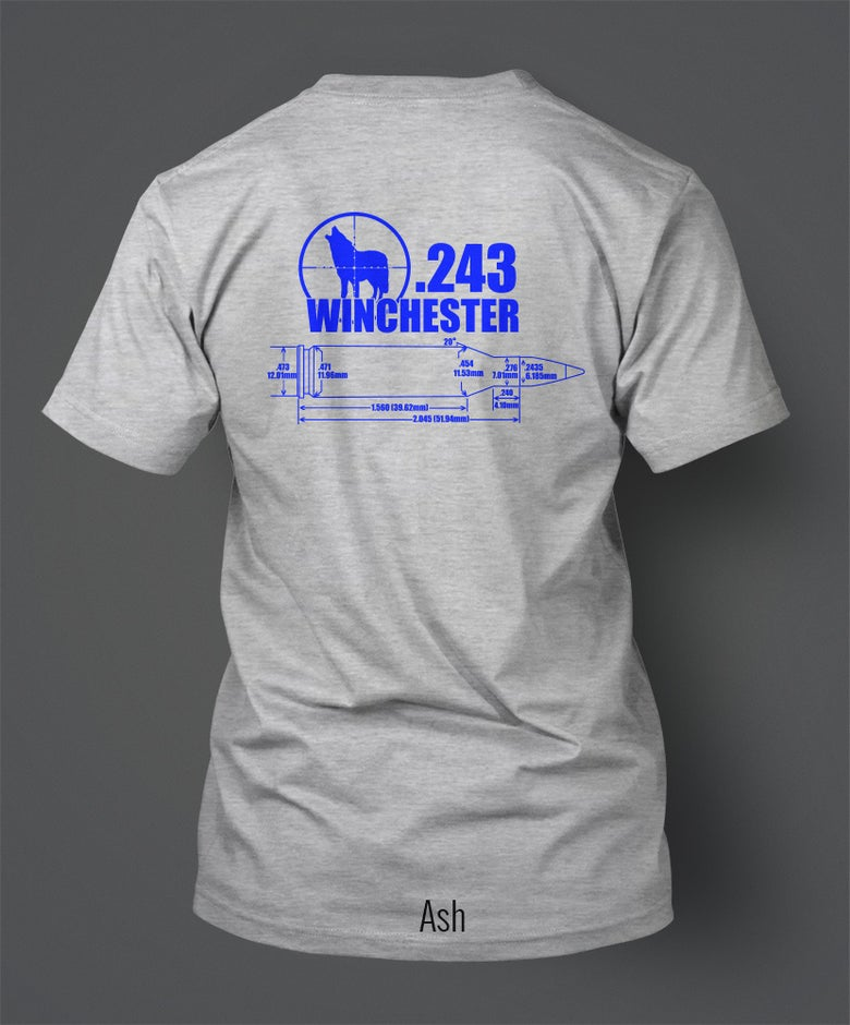 Image of .243 Winchester T-Shirt