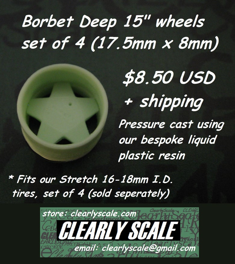 "Image of Borbet Deep 15"" Wheel Set of 4"