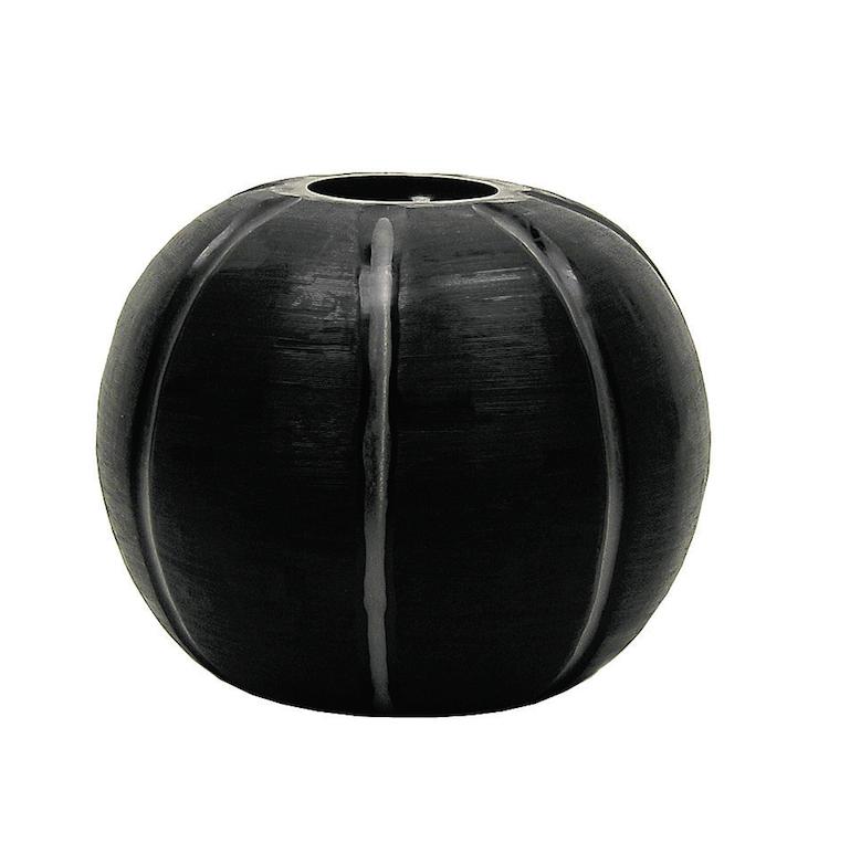 Image of Gobi Round Black Vase from Guaxs