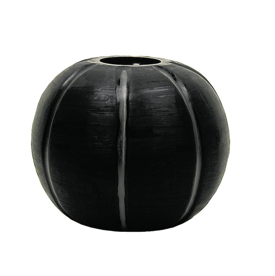 Image of Gobi Round Black Vase from Guaxs