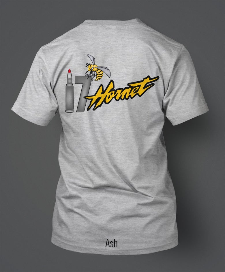 "Image of .17 Hornady Hornet T-Shirt - ""Yellow"" Hornet"