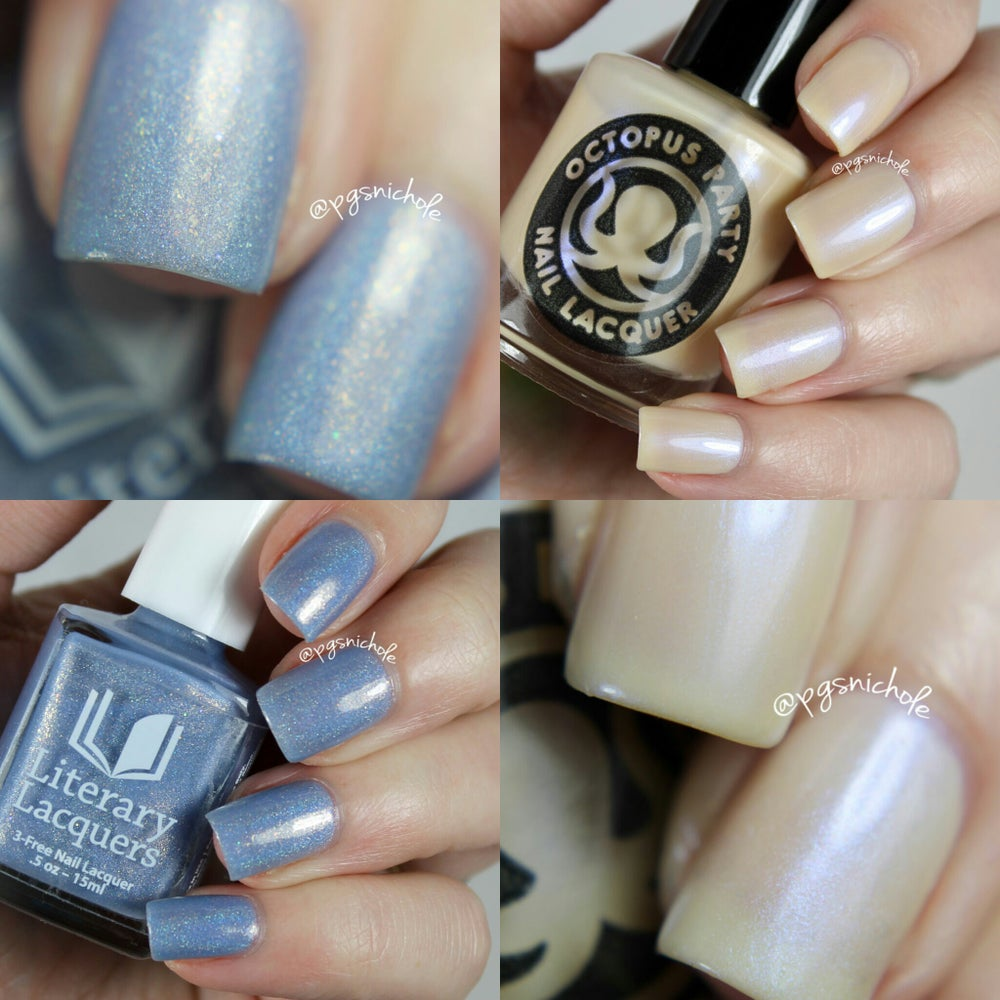 Image of LIMITED EDITION 2016 OPNL X LITERARY LACQUERS DUO