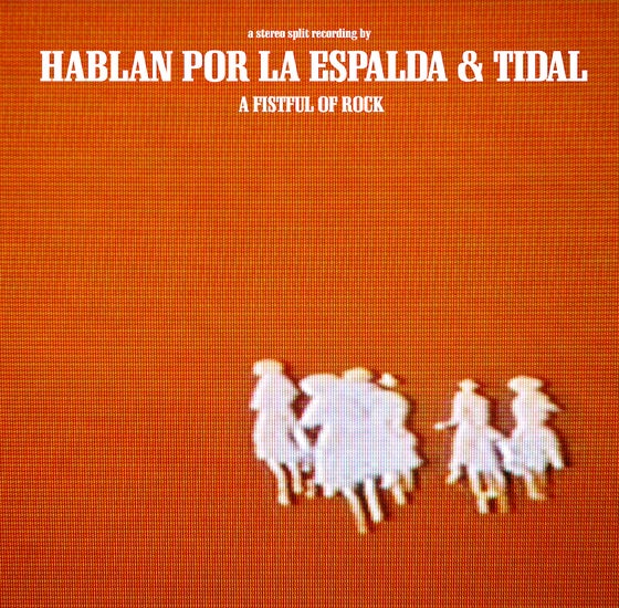 Image of split CD with Hablan Por La Espalda